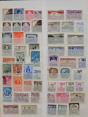 YS-K331 ROMANIA - Lot, Old Stamps USED