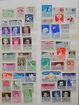 YS-K332 ROMANIA - Lot, Old Stamps USED