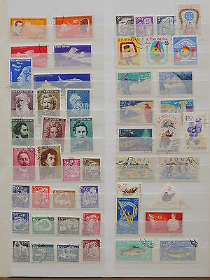 YS-K334 ROMANIA - Lot, All Different Stamps USED