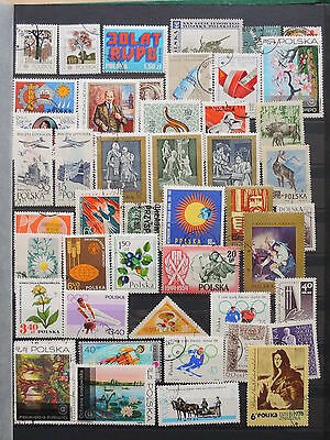 YS-K354 POLAND - Lot, Great Stamps USED