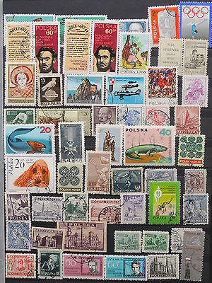 YS-K358 POLAND - Olympic Games, Lot Of Great Stamps USED