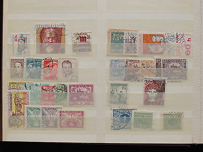 YS-K414 CZECHOSLOVAKIA - Selection, Old Stamps USED