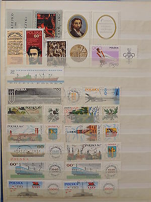YS-K454 POLAND - Transportation, Olympic Games, Music, Paintings USED