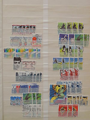 YS-K479 DENMARK - Lot, All Different Stamps USED