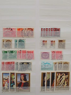YS-K555 HUNGARY - Paintings, Lot Of Great Stamps USED