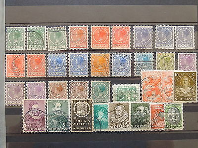 YS-K576 NETHERLANDS - Selection, Old Stamps USED