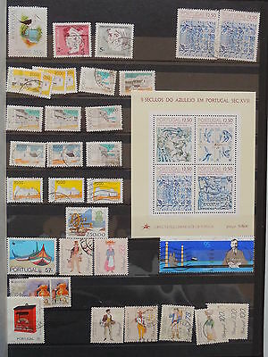 YS-K654 PORTUGAL - Lot, Great Stamps With Sheet USED
