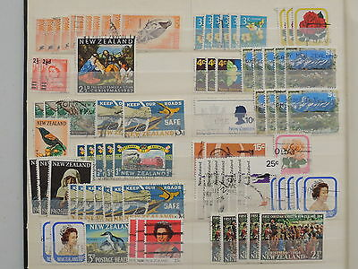 YS-K785 NEW ZEALAND - Lot, Old Stamps USED