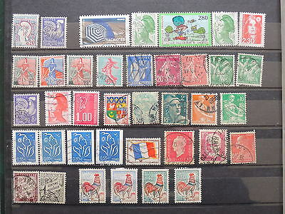 YS-K932 FRANCE - Selection, Lot Of Great Stamps USED