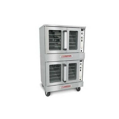 Southbend SLGS/22CCH SilverStar Double Deck Gas Convection Oven Standard Depth