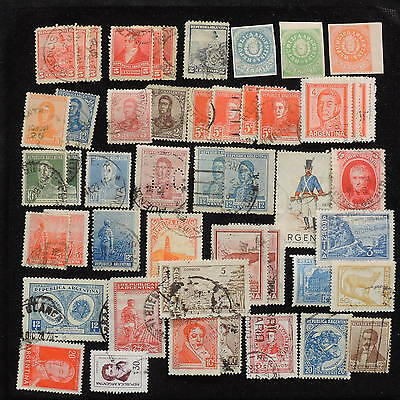 YS-L077 ARGENTINA - Lot, Old Stamps USED