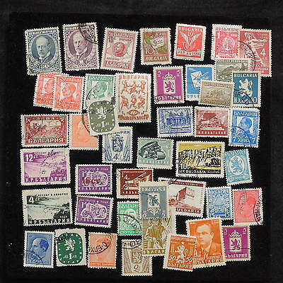 YS-L082 BULGARIA - Lot, Old Stamps USED