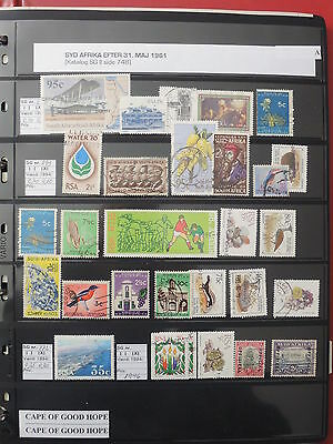 YS-L099 SOUTH AFRICA IND - Lot, Selection Of Great Stamps USED