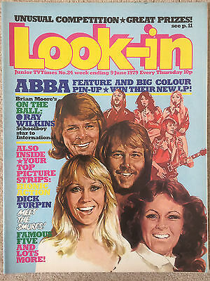 Look In Magazine 9 Jun 1979 #24 Abba