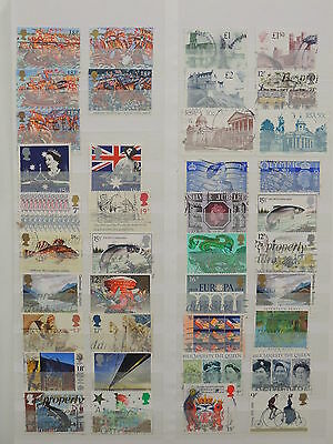 YS-L287 GB STAMPS LOT - Lot, Great Stamps USED