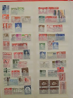 YS-L352 DENMARK - Accumulation, Lot Of Old Stamps USED