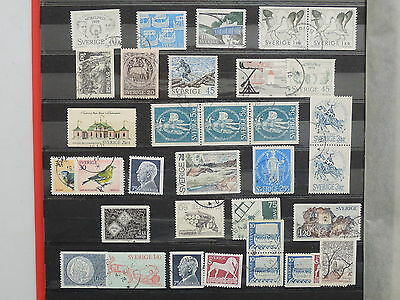 YS-L357 SWEDEN - Selection, Lot Of Great Stamps USED