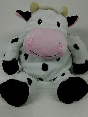 Hot Hugs Soft Toy Microwaveable Cow