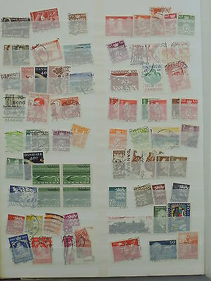 YS-L395 DENMARK - Lot, Accumulation Of Great Stamps USED