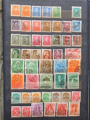 YS-L583 HUNGARY - Lot, Old Stamps USED