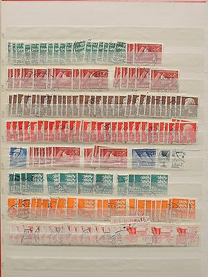 YS-L619 DENMARK - Lot, Accumulation Of Old Stamps USED