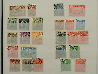 YS-L692 YUGOSLAVIA - Lot, Old Stamps USED