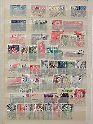 YS-L753 DENMARK - Lot, Old Stamps USED
