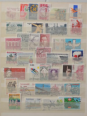 YS-L755 DENMARK - Lot, Old Stamps USED
