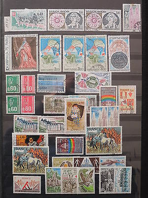 YS-L781 FRANCE - Space, Lot Of Great Stamps USED