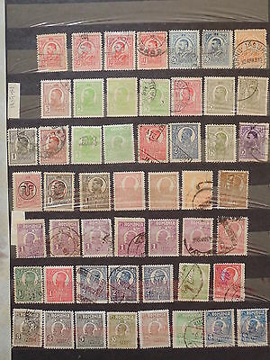 YS-L887 ROMANIA - Lot, Old Stamps USED