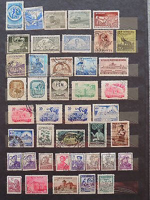 YS-L891 ROMANIA - Lot, Great Stamps USED