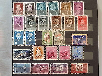 YS-L893 ROMANIA - Lot, Old Stamps USED