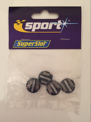Scalextric C8299 Round Guide Blade Plates Pack of 4 New