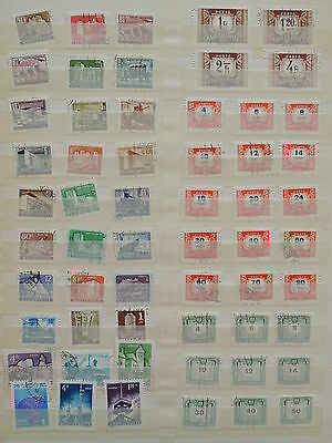 YS-L947 HUNGARY - Postage Due, Lot Of Great Stamps USED