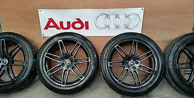"""4x Genuine Fully Refurbished Audi Q5 alloy wheels 20"""" with good tyres"""
