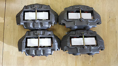 1965-82 S/S brake calipers NO CORE CHARGE 4 hoses, pads,clips, monting bolts kit