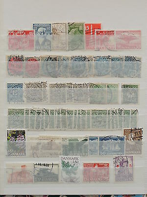 YS-M039 DENMARK - Lot, Old Stamps USED