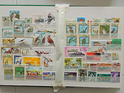 YS-M052 BIRDS - Transportation, Lot Of Great Stamps USED