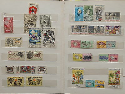YS-M062 CZECHOSLOVAKIA - Dogs, Transportation.. Lot Of Great Stamps USED
