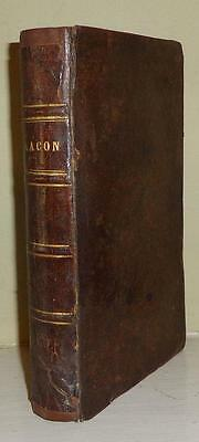 1836 Lacon: Many Things in Few Words REV C.C. COLTON Antique FULL LEATHER