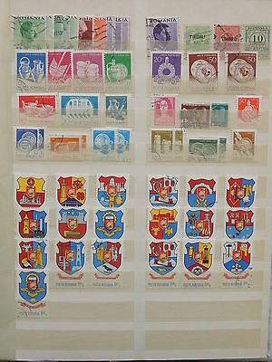YS-M126 ROMANIA - Coats Of Arms, Lot Of Great Stamps.. Definitives USED