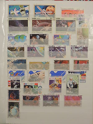 YS-M231 SPACE - Havana, Lot Of Great Stamps USED