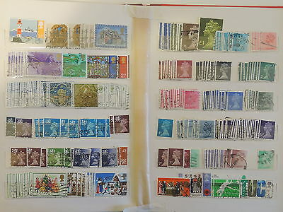 YS-M298 GB STAMPS LOT - Accumulation, Old Stamps USED