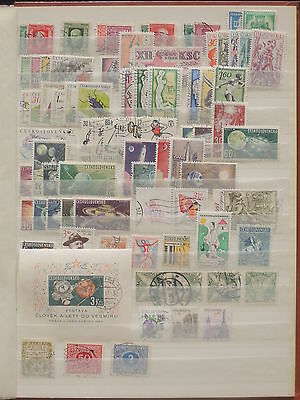 YS-M488 SPACE - Czechoslovakia, Lot Of Great Stamps USED