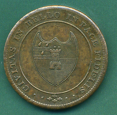 1811 Worcestershire One Penny Token.