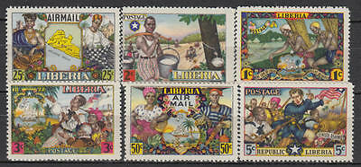 YS-M589 LIBERIA - Lot, Paintings, Folklore, Great Stamps MNH