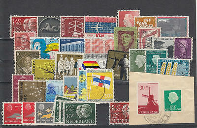 YS-M891 NETHERLANDS - Lot, Fine Stamps Used