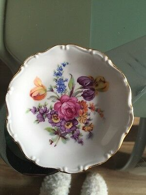 Bone China Czechoslovakia Pottery Small Plate Excellent Condition
