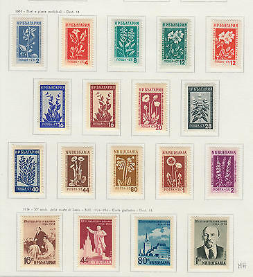 YS-M956 BULGARIA - Lot, Selection Of Stamps MH