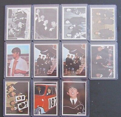 1964 Topps Beatles 11 Card Lot